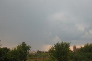 Celula convectivă la nord de Băilești