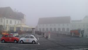 Ceață - Sibiu Piața Mică