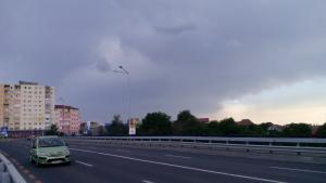 Sibiu Precipitații în depărtare.