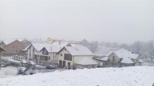 Sibiu - prima zăpadă - iarna 2015-2016