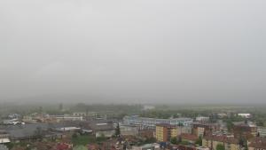 Aversa de ploaie moderata (directia N)