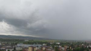 Aversă de ploaie (direcția NNE)